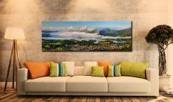 Derwent Water Cloud Inversion - Canvas Print on wall