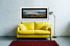 Derwent Water Cloud Inversion - Framed Print with Mount on Wall