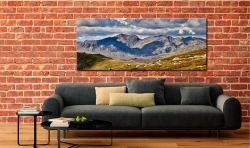 Scafell Pike from the Coniston Fells - Canvas Print on Wall