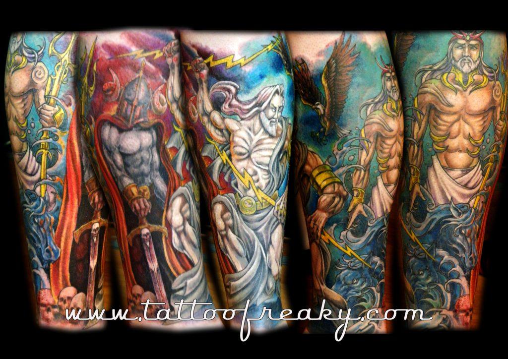 greek gods tattoo New Zealand