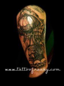 scarecrow tattoo nz