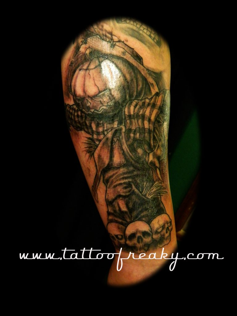 scarecrow tattoo nz