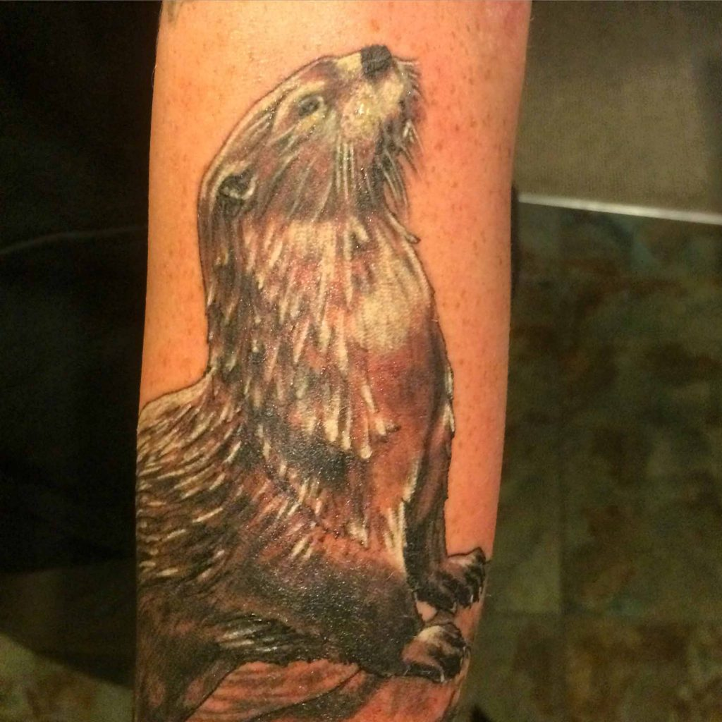 Otter Tattoo Tauranga New Zealand