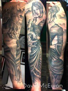 Victorian Tattoo Tauranaga New Zealand