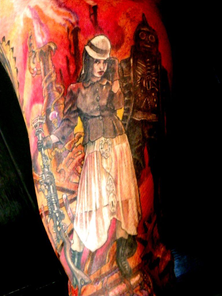 steampunk tattoo Tauranga New Zealand