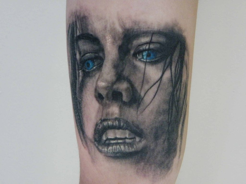 portrait tattoo Tauranga New Zealand