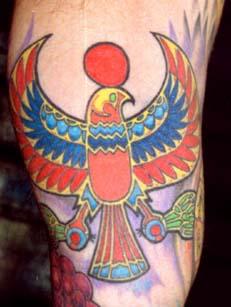 Horus tattoo Tauranga New Zealand