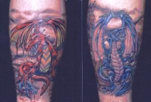 dragons tattoo Tauranga New Zealand