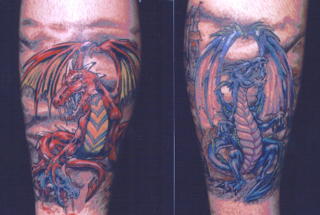 dragons tattoo Tauranga New Zealand