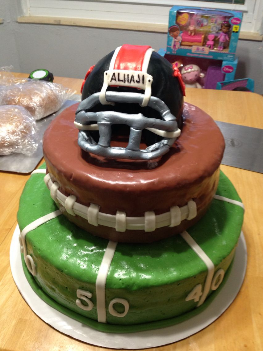 13 Year Old Birthday Cakes Fun Football Birthday Cake For A 13 Year Old Boy Birthday Cake