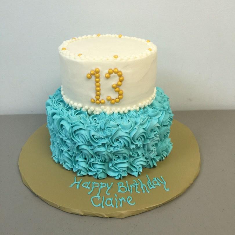 13Th Birthday Cake 13 Year Old Birthday Cake Just For Fun Cakes Rhonda F