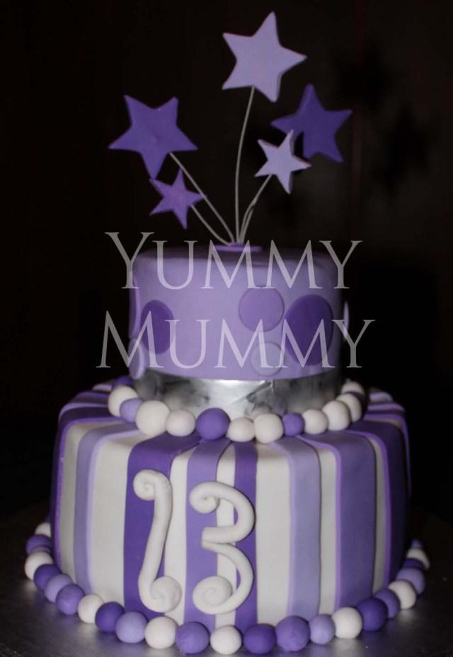 13Th Birthday Cake 13th Birthday Cake Yummy Mummy