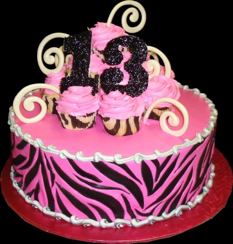 13Th Birthday Cake Birthday Cakes Sugar Showcase