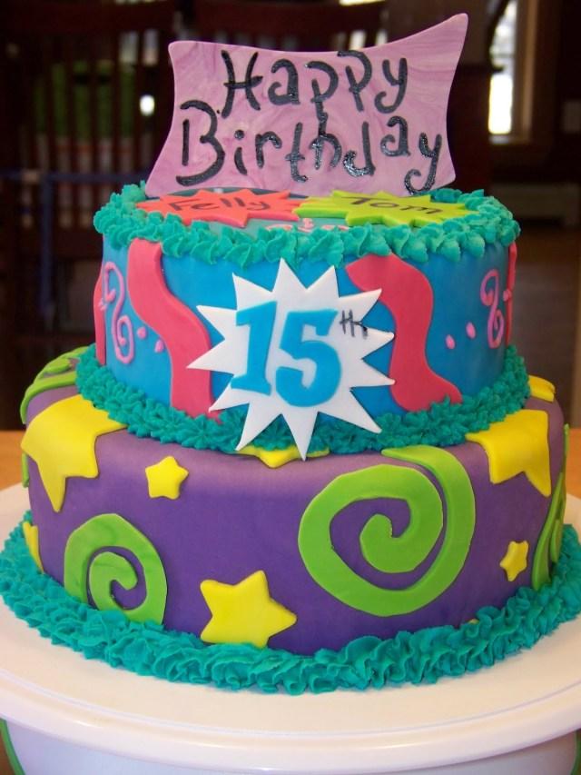 15Th Birthday Cakes 11 Happy Fifteenth Birthday Cakes Photo Happy 15th Birthday Cake