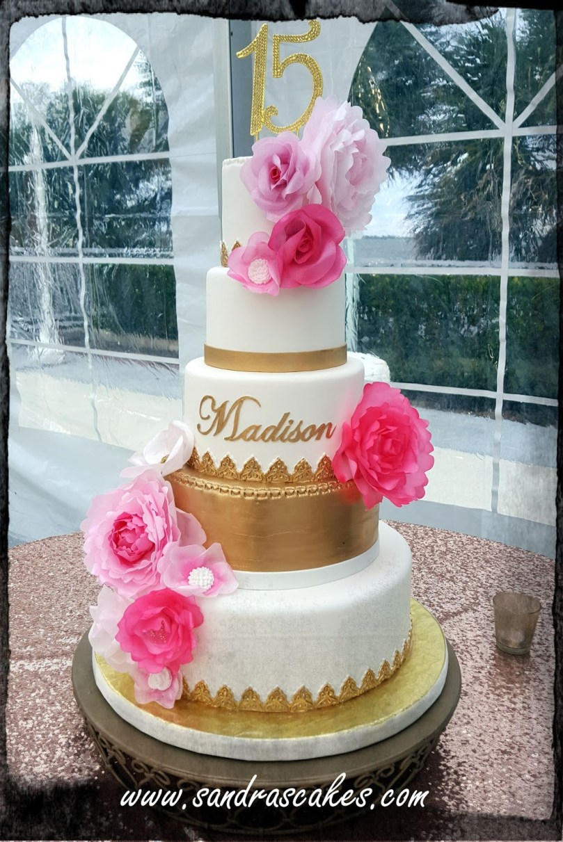 15Th Birthday Cakes Madisons 15th Birthday Cake