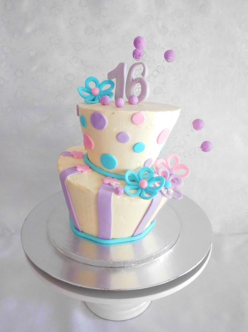 16Th Birthday Cake Ideas Topsy Turvy 16th Birthday Cake Cakecentral
