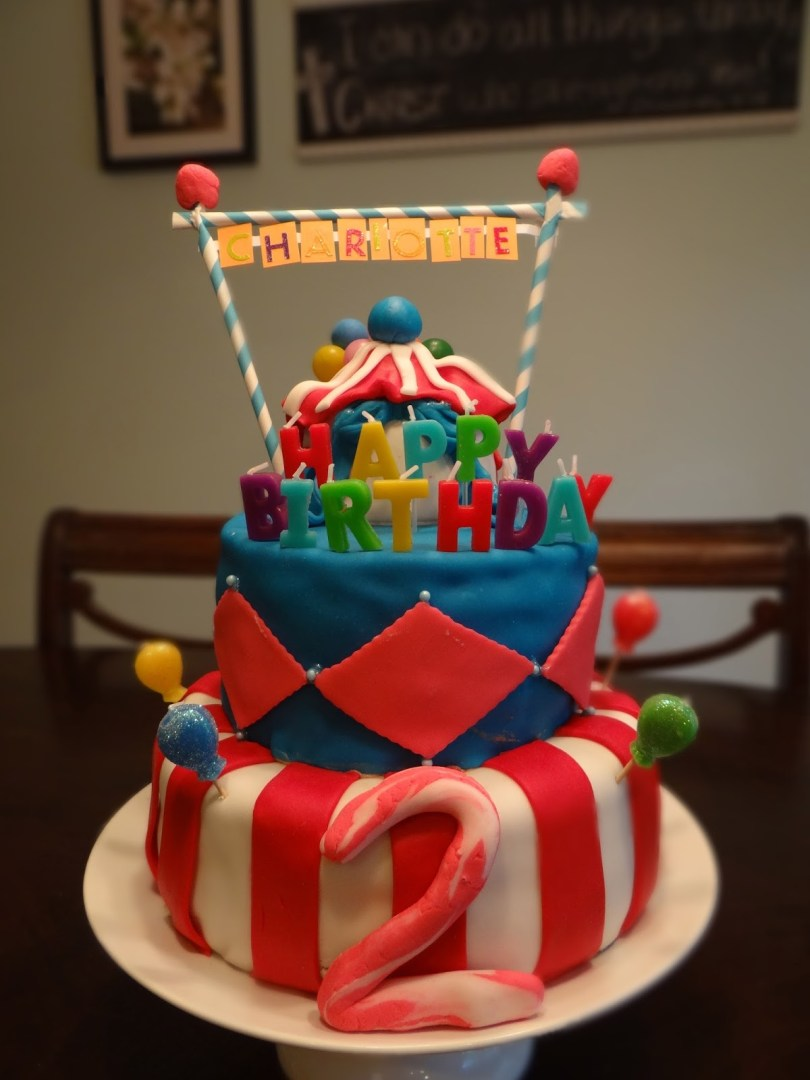 2 Year Old Birthday Cake Busy Hands Blessed Hearts Carnival Party