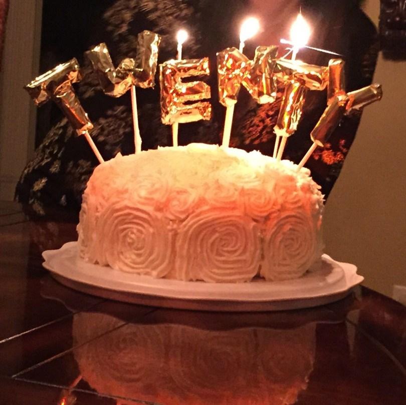 20Th Birthday Cake 20th Birthday Cake Mini Mylar Balloon Cake Toppers See Ajoyfulriot