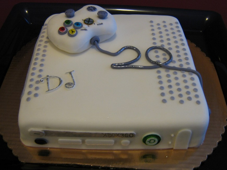 20Th Birthday Cake Xbox360 20th Birthday Cake A Photo On Flickriver