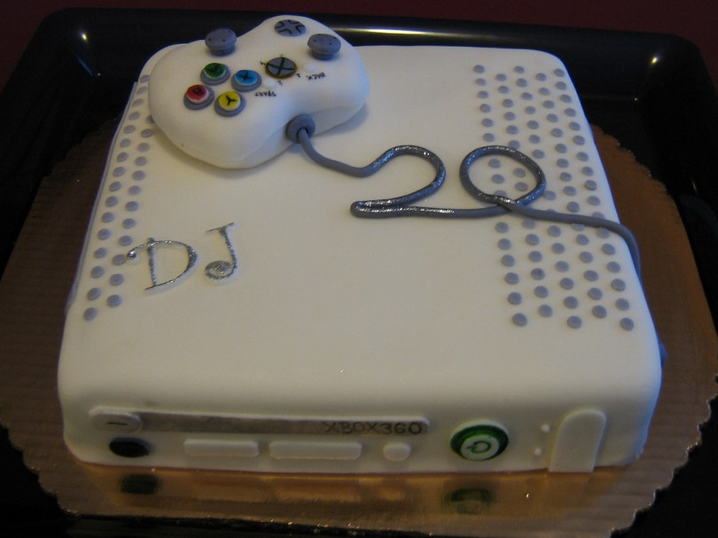 20Th Birthday Cake Xbox360 20th Birthday Cake A Photo On Flickriver