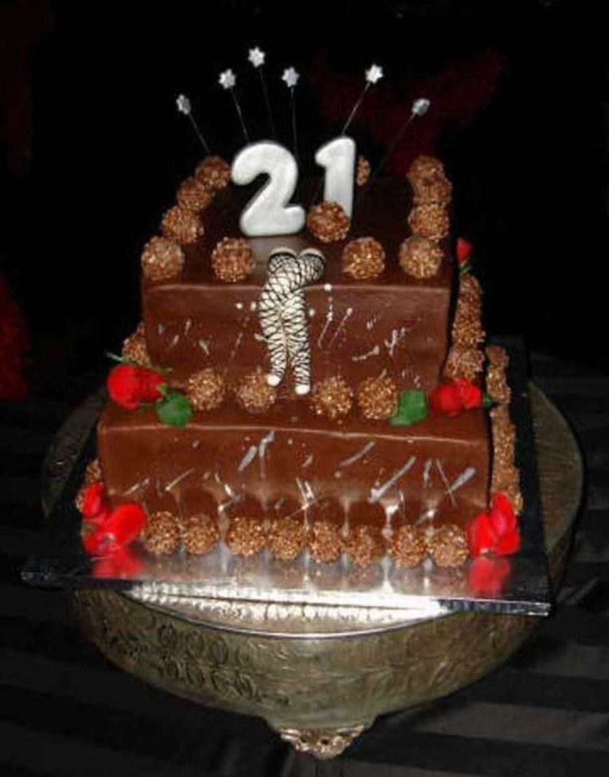 21St Birthday Cake Ideas Alexas 21st Birthday Cake Cakecentral