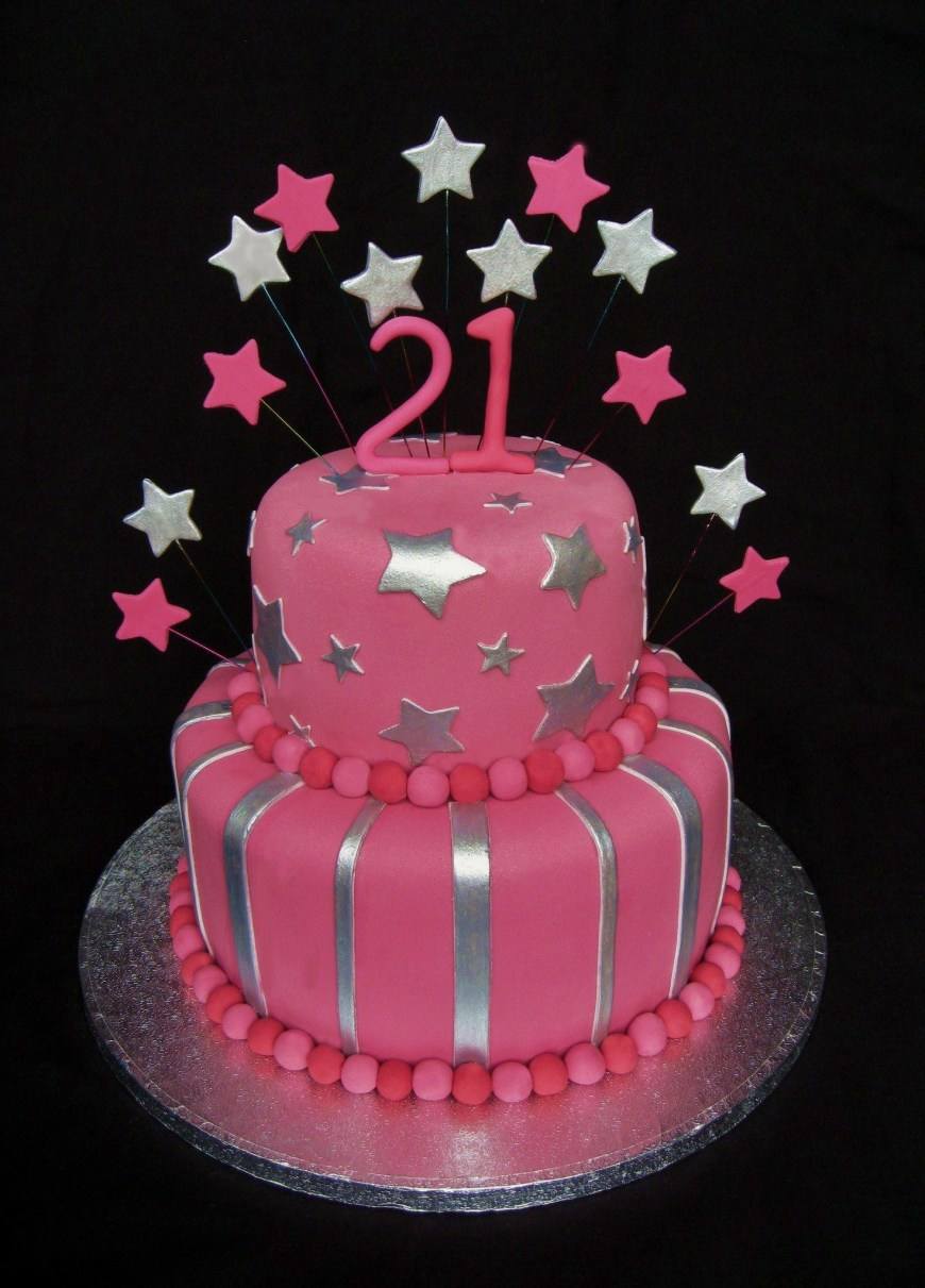 21St Birthday Cakes 21st Birthday Cake Girls 21st Birthday Cake Cakes Pinterest