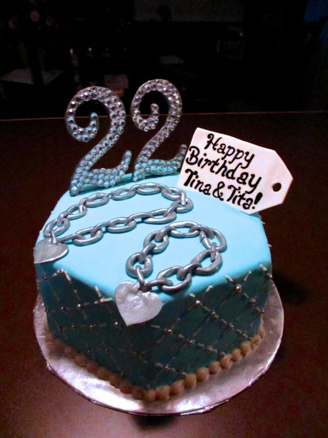 22 Birthday Cake 22nd Cakes