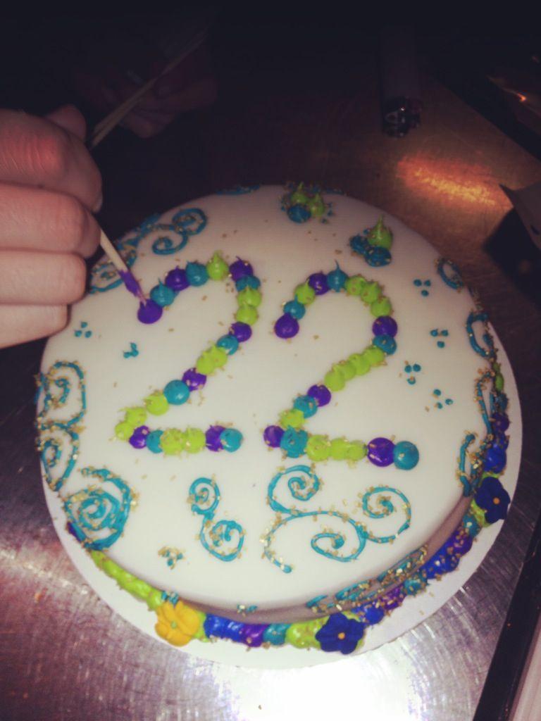 22 Birthday Cake Friends 22nd Birthday Cake Food Pinterest 22nd Birthday Cakes