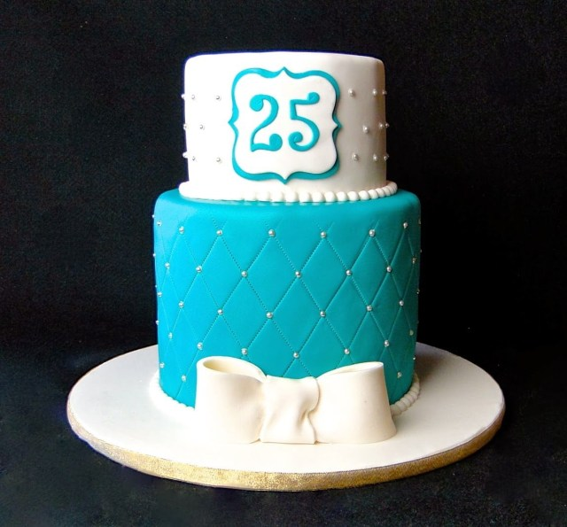 25Th Birthday Cake Ideas 25th Images Happy