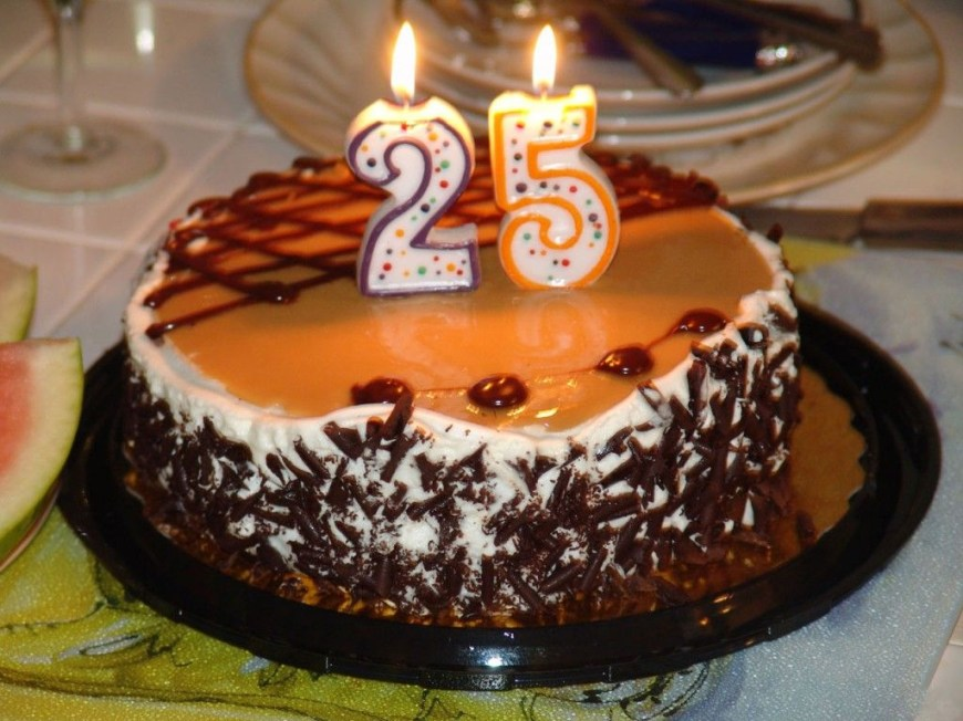 25Th Birthday Cake Ideas 25th Birthday Cake Images Happy Birthday Cake Images The