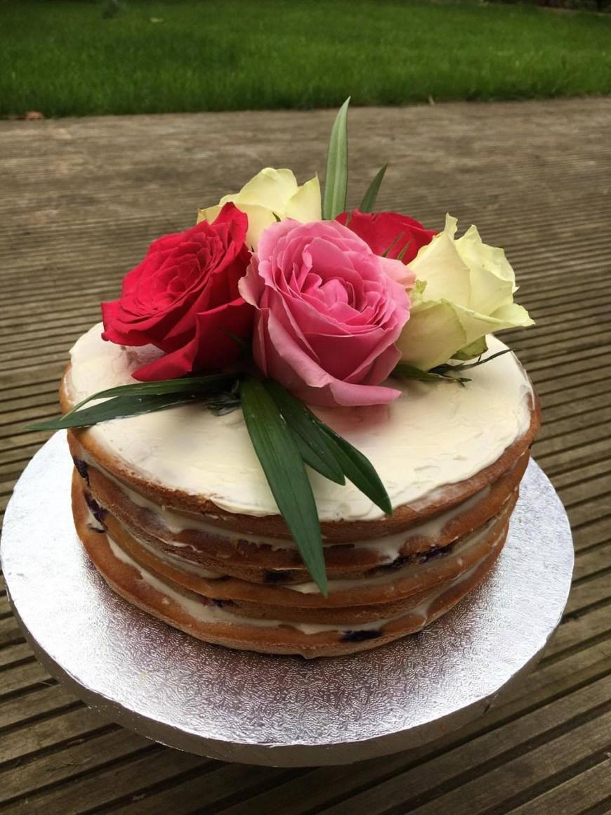 2Nd Birthday Cake Natural Lemon Blueberry 2nd Birthday Cake Ba Led Weaning Ideas