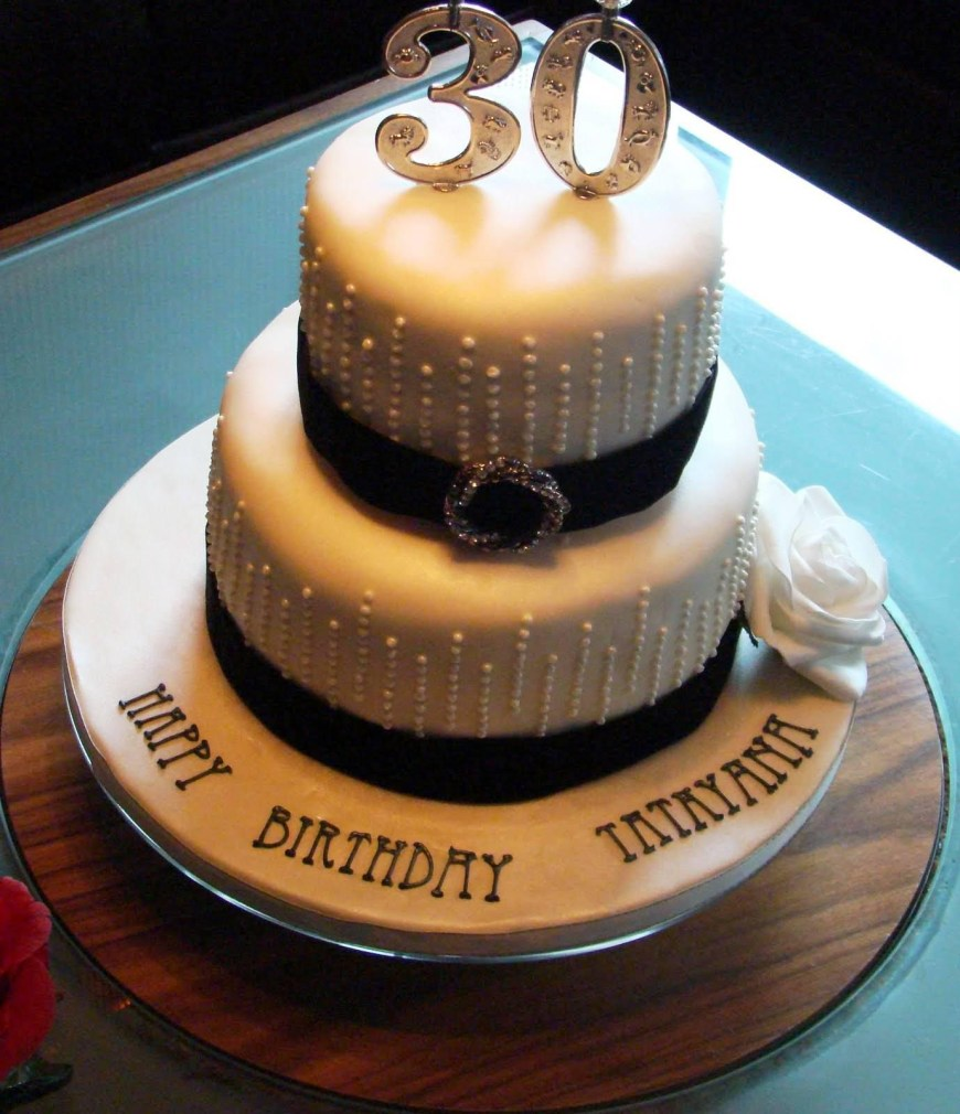 30Th Birthday Cake Ideas For Him 30th Birthday Cake Ideas For Women Protoblogr Design 30th