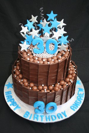 30Th Birthday Cake Ideas For Him 30th Birthday Cakes Leonies Cakes And Parties 30th