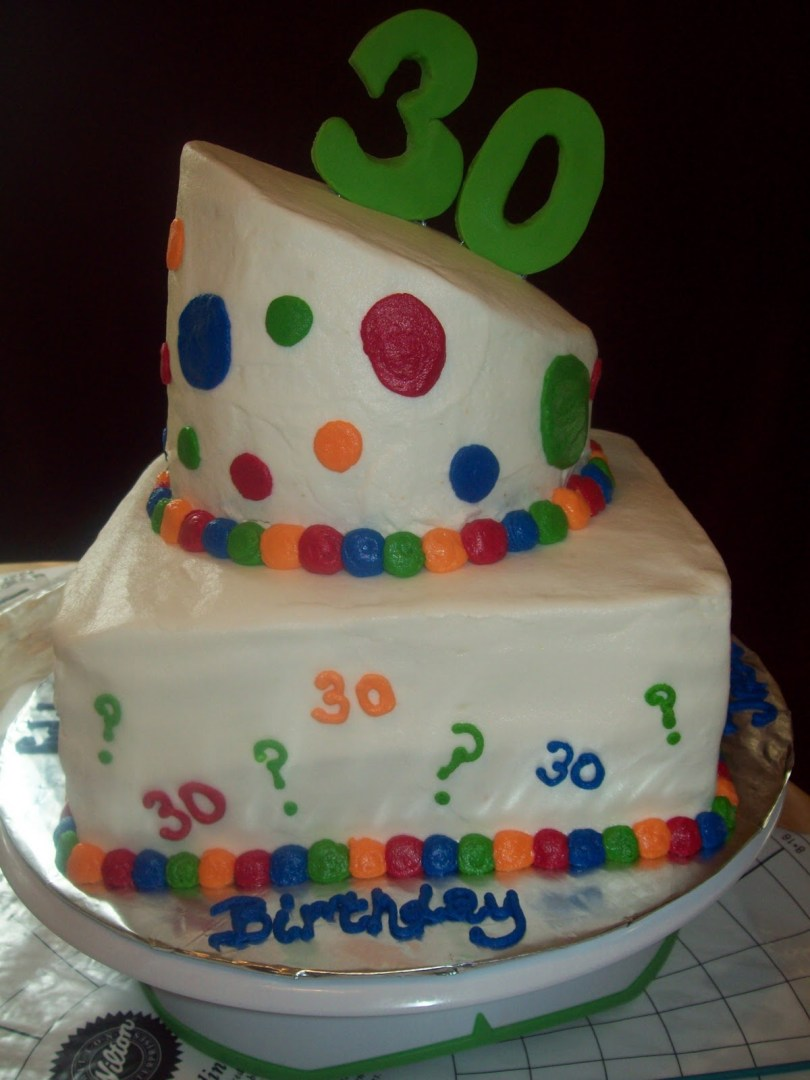 30Th Birthday Cake Ideas For Him Awesome 30th Classic Style Smart