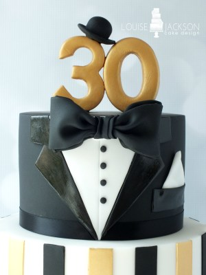 30Th Birthday Cake Ideas For Him Top Tier Of The Great Gats Inspired 30th Birthday Cake