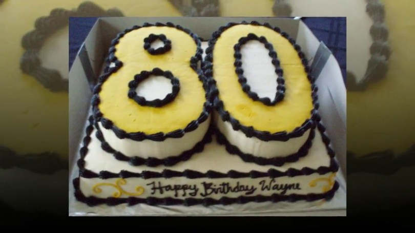 80Th Birthday Cake Ideas 80th Birthday Cake Ideas Cake Decoration Ideas Youtube