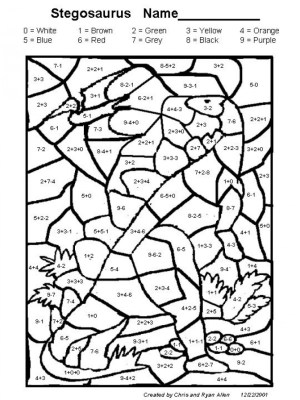 Addition Coloring Pages Reliable Addition Coloring Pages 2nd Grade Math Worksheets