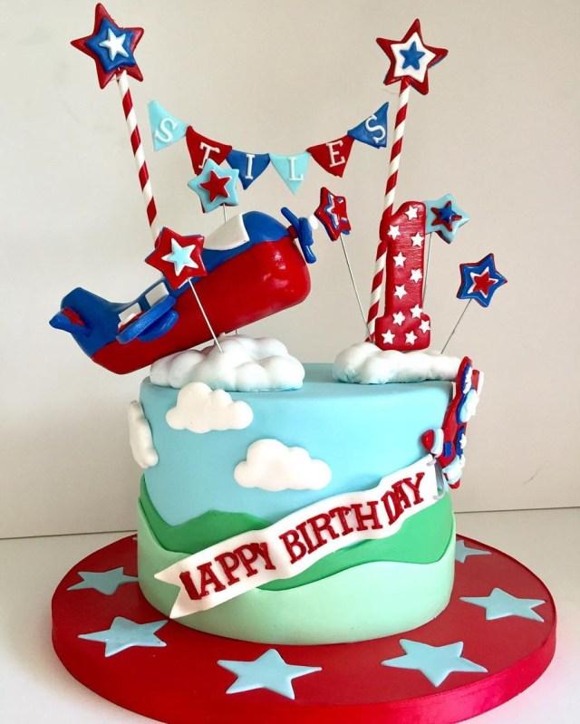 Airplane Birthday Cake Airplane 1st Birthday Cake Cakecentral