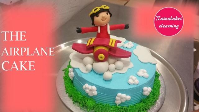 Airplane Birthday Cake How To Make The Airplane Birthday Cake Designcake Decorating Tips