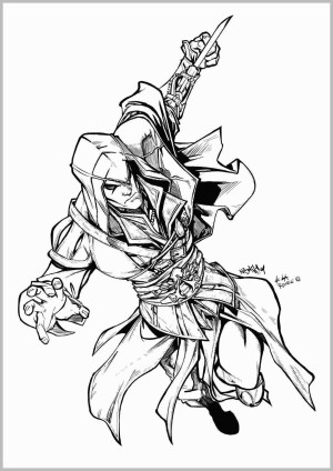 Assassin's Creed Coloring Pages Assassins Creed Coloring Pages Fresh 15 Of Assassin S Creed 2