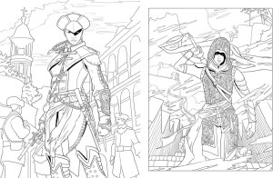 Assassin's Creed Coloring Pages The Ones Who Came Before On Twitter Pages From Assassins Creed