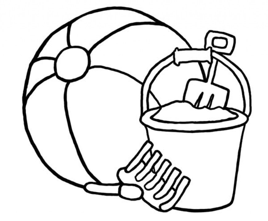 Ball Coloring Pages Beach Ball Coloring Page Bloodbrothers Me Ribsvigyapan Bea On Within
