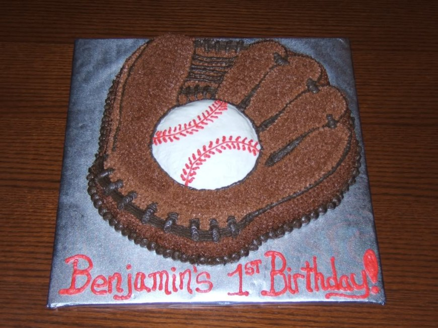 Baseball Birthday Cake Baseball Cakes Decoration Ideas Little Birthday Cakes
