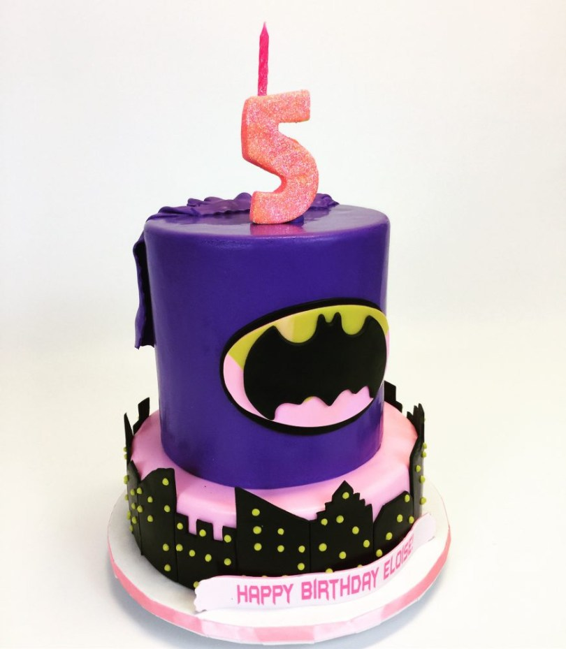 Batgirl Birthday Cake Batgirl Birthday Cake Cake In Cup Ny