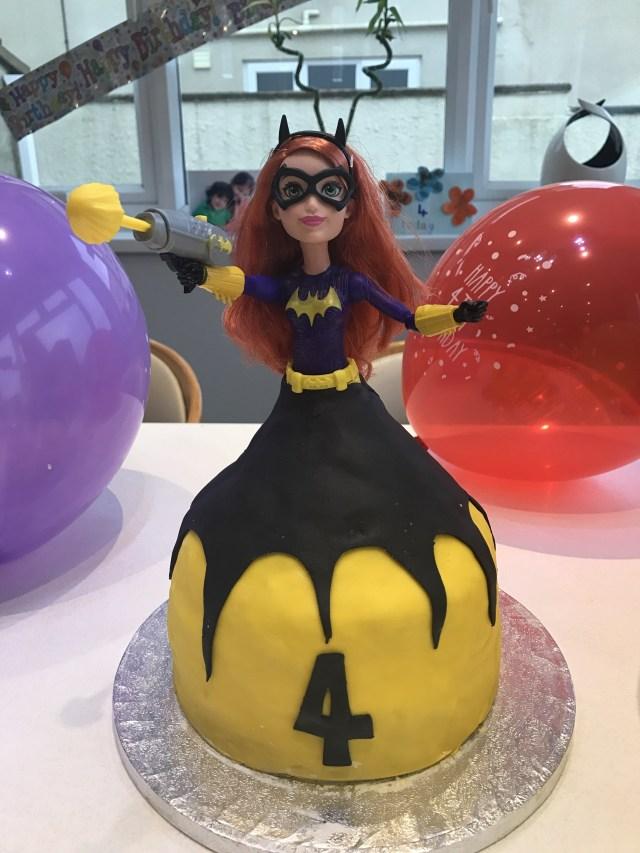 Batgirl Birthday Cake Batgirl Birthday Cake Quik N Dirty Bad Food