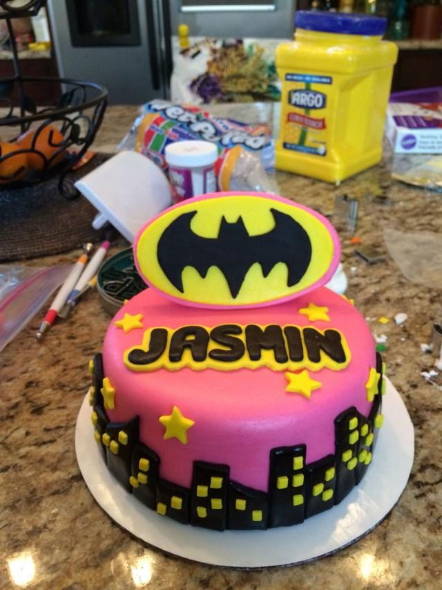 Batgirl Birthday Cake Batgirl Cake Anthonys B Day Pinterest Batgirl Party Batgirl