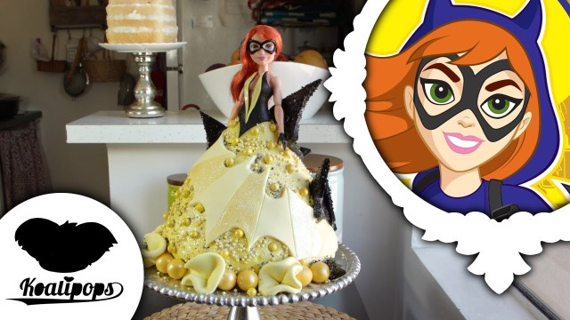 Batgirl Birthday Cake Batgirl Doll Cake Dc Super Hero Girls Youtube