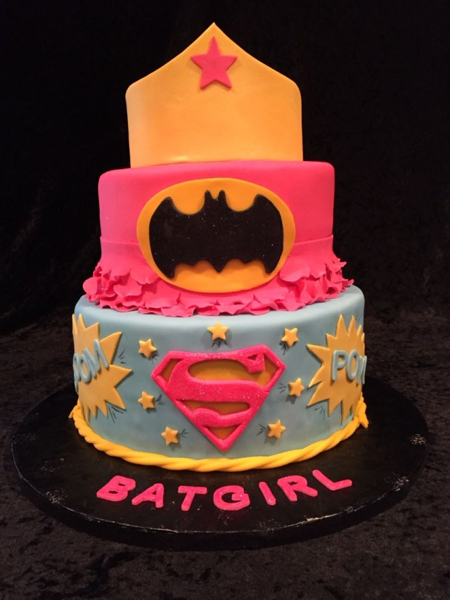 Batgirl Birthday Cake Batgirls 2nd Birthday Cake Birthday In 2018 Pinterest