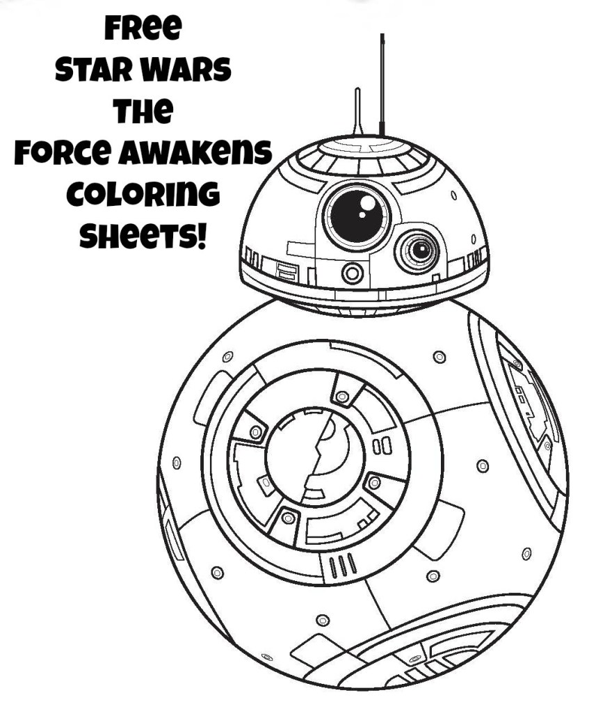 Bb8 Coloring Page Star Wars Coloring Pages Bb 8 Freshcols