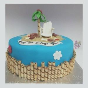 Beach Birthday Cakes Beach Birthday Cake Ideas Alesra Wondercraftnetworks